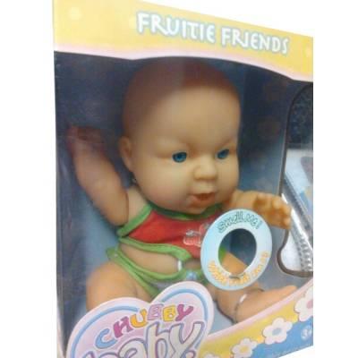 Ароматизированный пупс Frutie friends, с ароматом клубники, 20 см