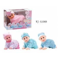 Кукла-пупс ползающая, звуковые эффекты Junfa Toys