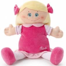 Мягкая кукла в малиновом платье, 24 см Trudi