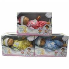 Пупс в комбинезоне и шапочке Baby Peek-a-Boo, 40 см Shenzhen Toys