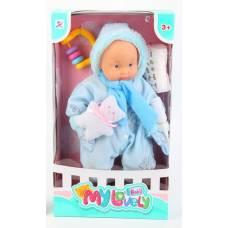 Пупс в комбинезоне My Lovely Baby с медвежонком  Shenzhen Toys