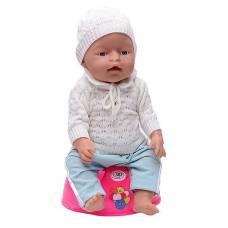 Игровой набор Baby Doll - Пупс с аксессуарами (пьет, писает, плачет, ест)
