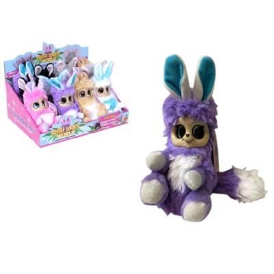 Мягкая игрушка Bush Baby World - Пушастик Кики, фиолетовая 1TOY