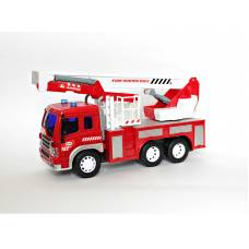 Пожарная машина р/у FullFunc (на бат., свет), 1:16 WenYi