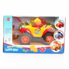 Ретро-автомобиль р/у с гонщиком (звук, на бат.) Shenzhen Toys