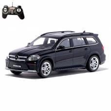 Машина радиоуправляемая Mercedes-Benz GL550, масштаб 1:18, работает от аккумулятора, световые эффекты, цвет чёрный GUOKAI