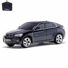 Машина радиоуправляемая BMW X6, масштаб 1:24, работает от батареек, свет, цвет чёрный GUOKAI