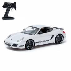 Машина радиоуправляемая Porsche Cayman R, масштаб 1:16, работает от аккумулятора, свет, цвет белый IQ