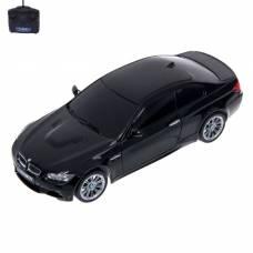Машина радиоуправляемая BMW M3, 1:24, работает от батареек, свет, цвет чёрный GUOKAI