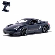 Машина радиоуправляемая Porsche Cayman R, масштаб 1:16, работает от аккумулятора, свет, цвет чёрный IQ