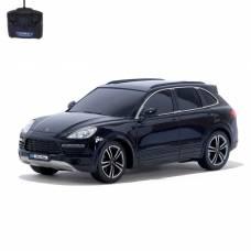 Машина радиоуправляемая Porsche Cayenne Turbo, 1:18, работает от батареек, свет, цвет черный GUOKAI