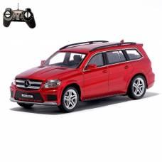 Машина радиоуправляемая Mercedes-Benz GL550, масштаб 1:18, работает от аккумулятора, световые эффекты, цвет красный GUOKAI