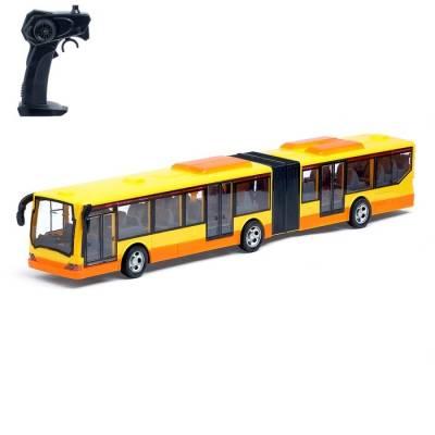 Автобус радиоуправляемый «Городской», световые эффекты, работает от батареек, цвета МИКС Sima-Land