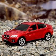 Машина радиоуправляемая BMW X6, масштаб 1:24, работает от батареек, свет, цвет красный GUOKAI