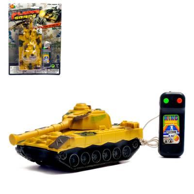 Танк «Тигр», на дистанционном управлении, цвета МИКС Sima-Land