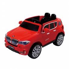 Электромобиль BMW X5 (на аккум., свет, звук), красный Jinjianfeng