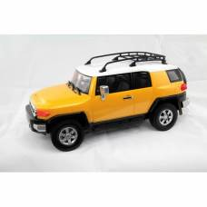 Машина р/у Toyota FJ Cruiser (на бат., свет), желтая, 1:16 Kidz Tech