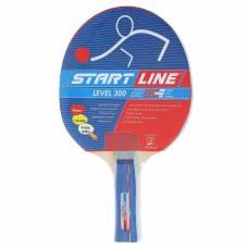Ракетка для настольного тенниса Level 300 с анатомической ручкой Start Line