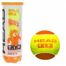 Теннисный мяч T.I.P. Orange, желтый, 3 шт. HEAD