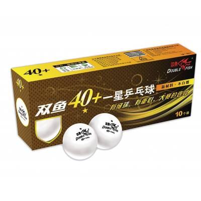 Мячи для настольного тенниса, 10 штук Double Fish