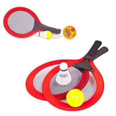 Бадминтон и теннис, 2 в 1, 4 предмета, в сетке ABtoys