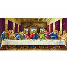 Раскраска по номерам - «Тайная вечеря» - Леонардо да Винчи, 40 х 80 см Schipper