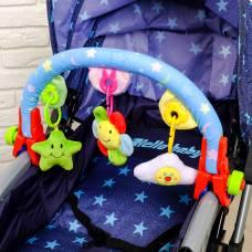 Дуга игровая мягкая на коляску/кроватку «Мягкие друзья» Sima-Land