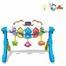 Игровая стойка Звездочки, магнитная цветная доска, свет, звук Наша игрушка