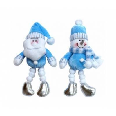 Новогодняя мягкая игрушка с ногами из снежков, 18 см Snowmen