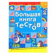 Большая книга тестов: для детей 5-6 лет Росмэн