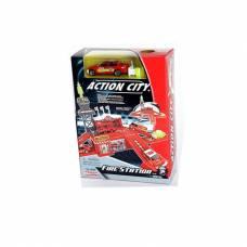 Игровой набор Action city - Пожарная станция Realtoy