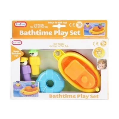 Игровой набор для ванны Bathtime Play Set Fun Time