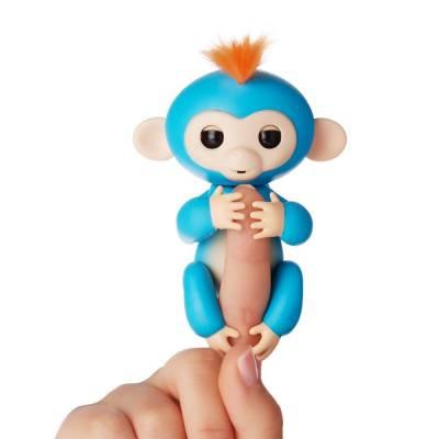 Интерактивная ручная обезьянка Fingerlings - Борис WowWee