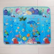 Коврик детский на фольгированной основе «Морское путешествие», размер 119х88 см Sima-Land