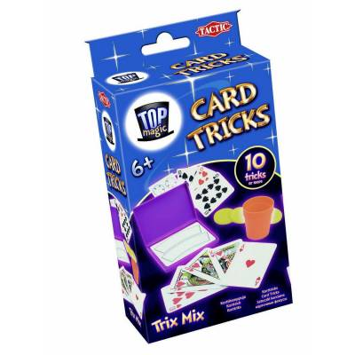 Карточные фокусы, 10 трюков Tactic