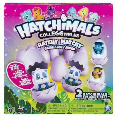 Настольная игра Memory - Hatchimals + 2 коллекционные фигурки Spin Master
