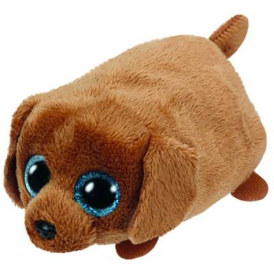 Мягкая игрушка Teeny Tys - Щенок Spangle, коричневый, 10 см Ty Inc