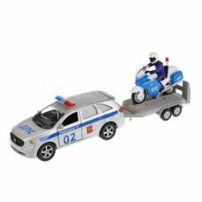 Инерционная машина Kia Sorento Prime - Полиция с прицепом  Технопарк