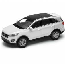 Масштабная модель автомобиля Kia Sorento, белая, 1:34-39 Welly