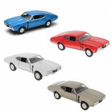 Масштабная модель автомобиля 1968' Oldsmobile 442, 1:34-39  Welly