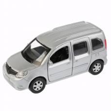 Инерционная машина Renault Kangoo, серебристая, 12 см Технопарк