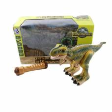 Динозавр р/у The New World of Dinosaurs с проектором (на бат., свет, звук) Shantou