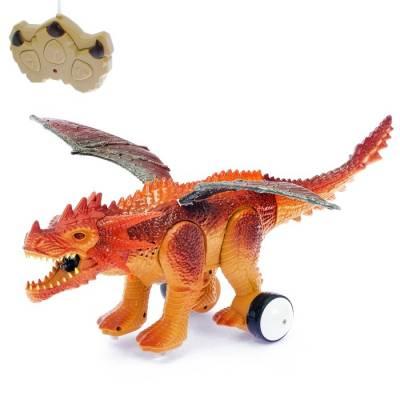 Динозавр радиоуправляемый «Дракон», эффект дыма, световые и звуковые эффекты Sima-Land