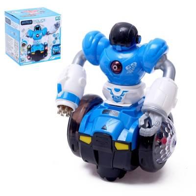 Робот «Диско», световые и звуковые эффекты, работает от батареек, цвета МИКС Sima-Land