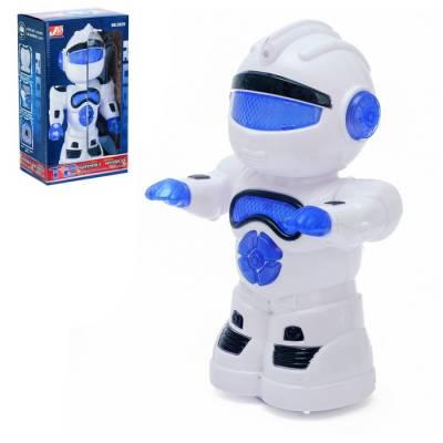 Робот «Космобот», ездит, произвольное движение, световые и звуковые эффекты, работает от батареек Sima-Land