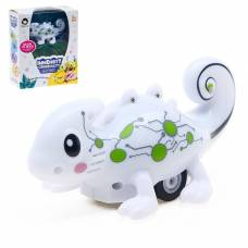 Робот «Хамелеон», световые и звуковые эффекты, работает от аккумулятора, ездит по линии Sima-Land