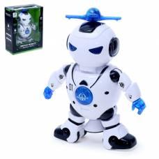 Робот «Танцор», ездит, произвольное движение, световые и звуковые эффекты, работает от батареек Sima-Land