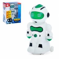 Робот «Мини бот», световые и звуковые эффекты, работает от батареек, цвета МИКС WOOW TOYS