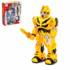 Робот «Автобот», световые и звуковые эффекты, ходит Sima-Land
