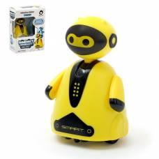 Робот «Умный бот», ездит по линии, световые эффекты, цвета МИКС Sima-Land